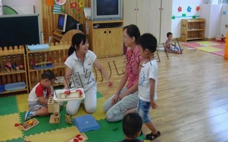 《北风吹》;来自市北区心语幼儿园的王岩老师和同事